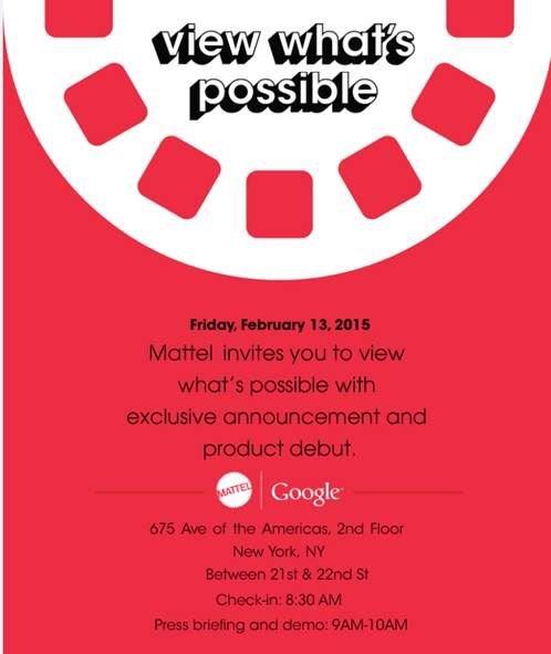 convite mattel google