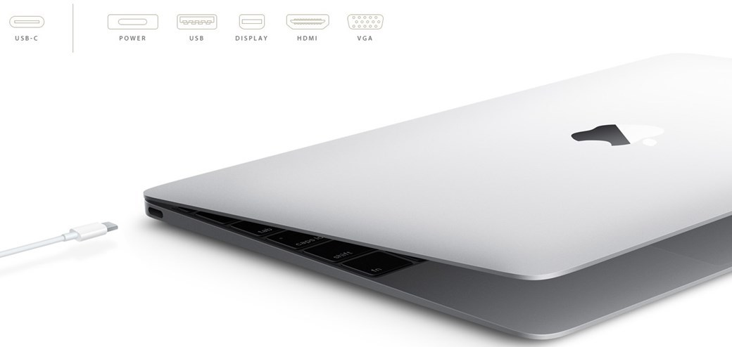 porta usb macbook apple