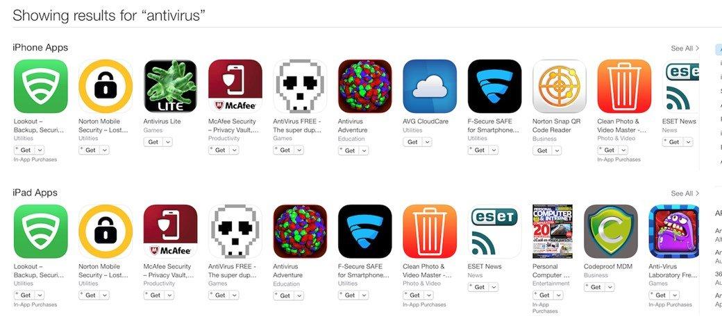 app store antivirus