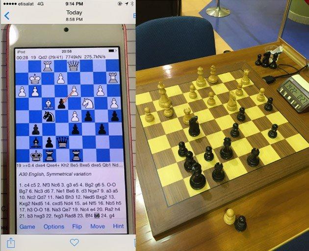 xadrez batota