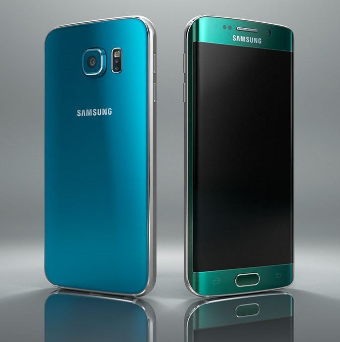 samsung galaxy green and blue