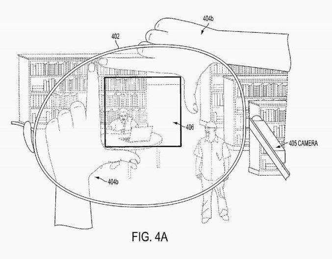 patente google dedos fotos