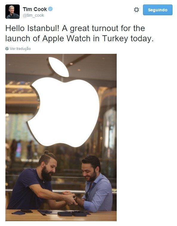 tim cook apple twitter