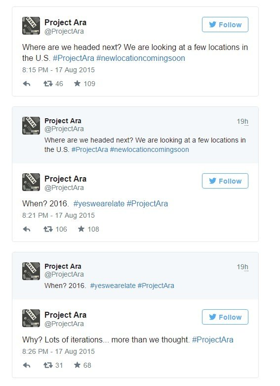 twitter project ara