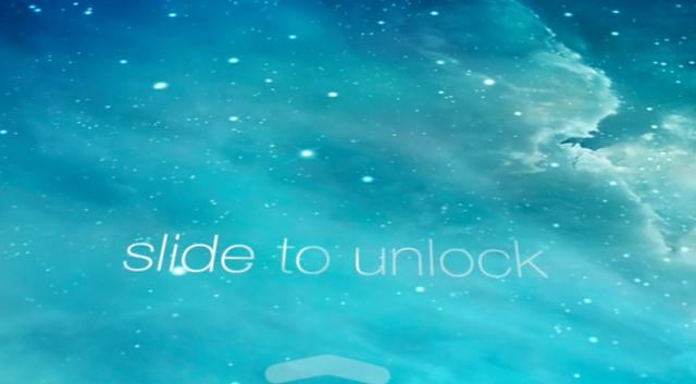 slide to unlock