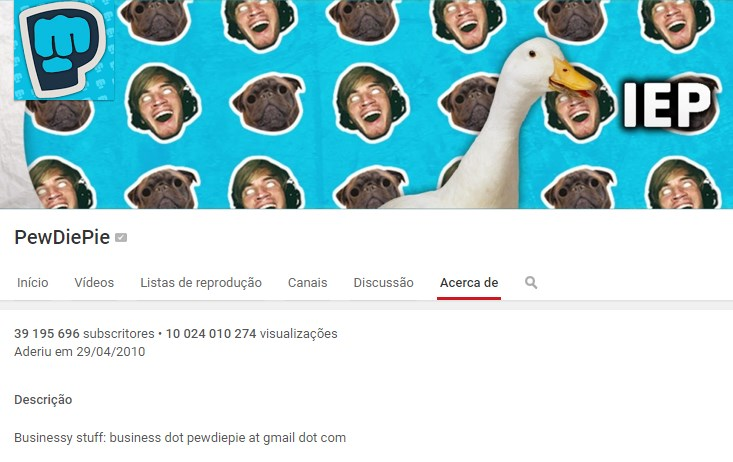 youtube pewdiepie