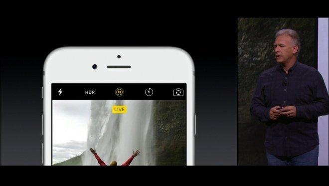 câmara iphone 6s