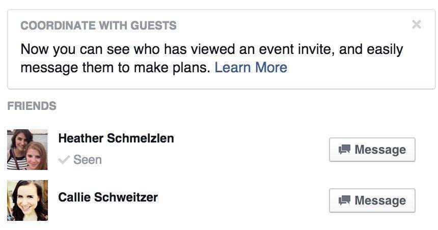 facebook eventos vistos
