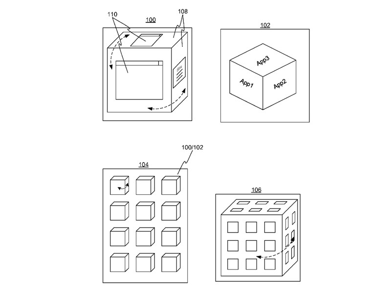 windows patente 3d