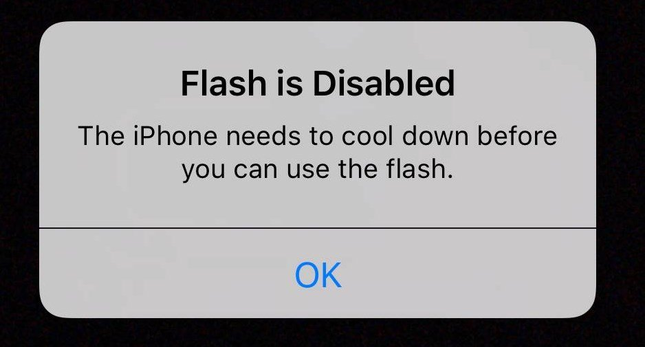 iphone 6s flash quente