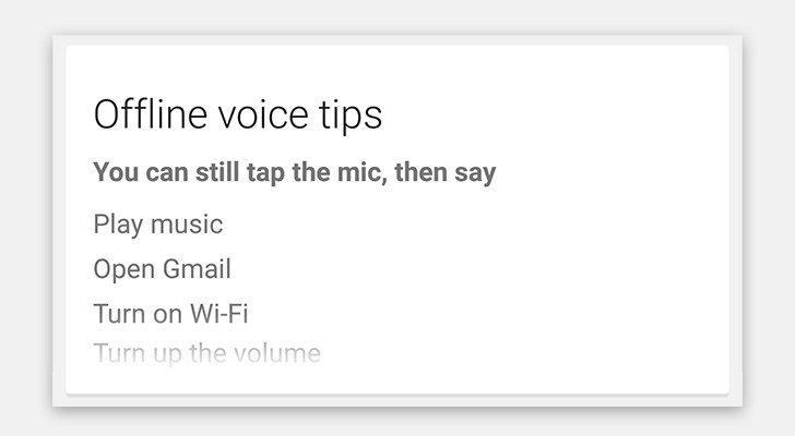 google android offline