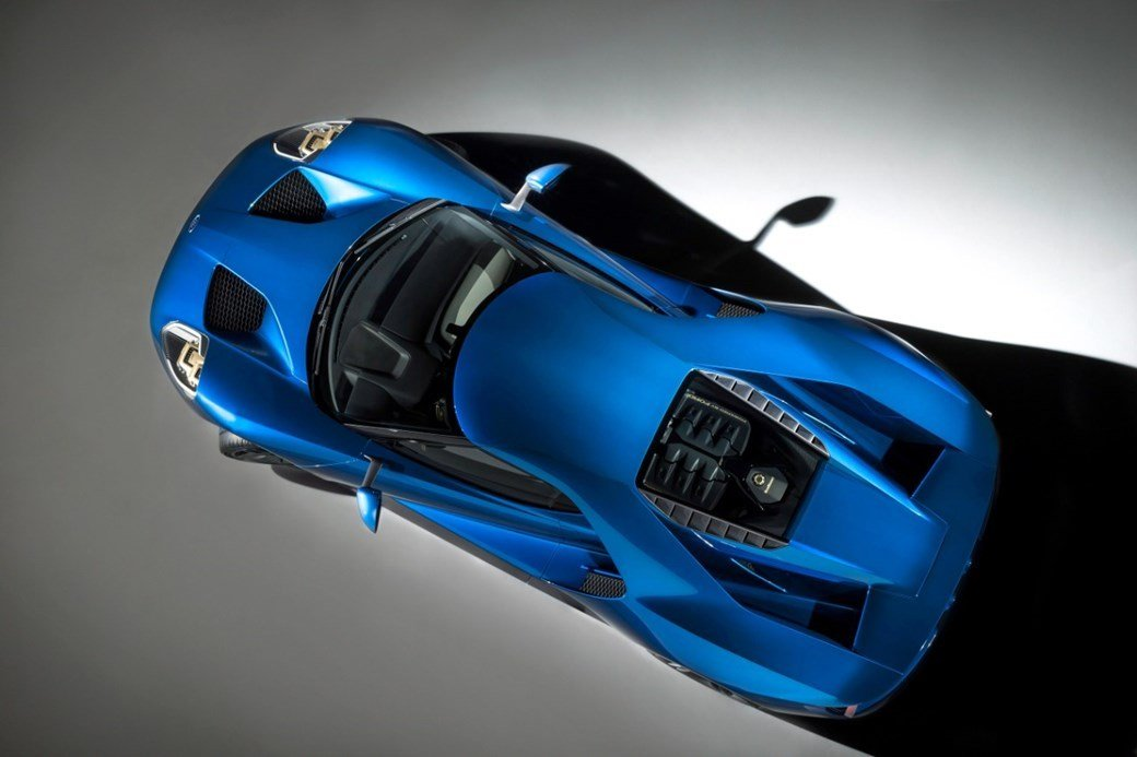 ford GT corning