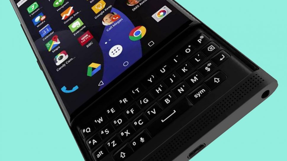 blackberry smartphone android