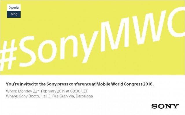 sony evento mwc 2016