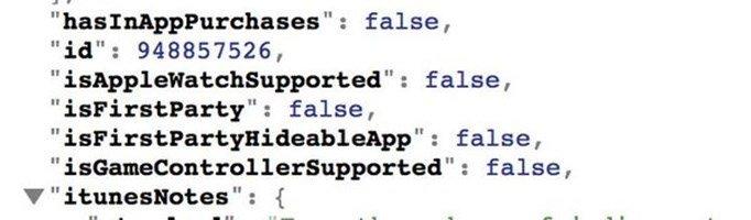 apple apps esconder codigo