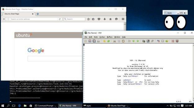 Aplicações do Linux dentro do Windows 10