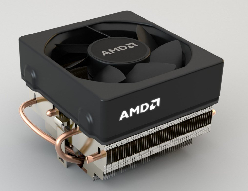 AMD cooler Wraith