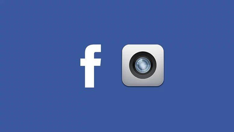 Aplicação de câmara do Facebook