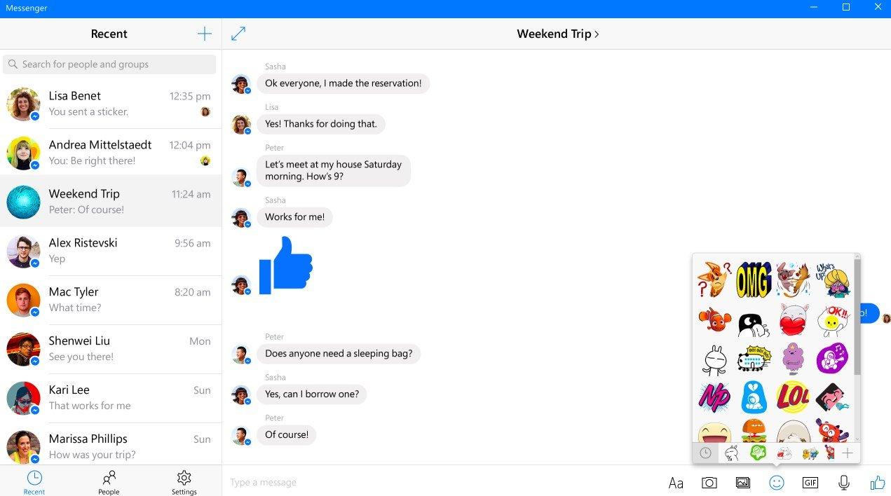 Messenger no Windows