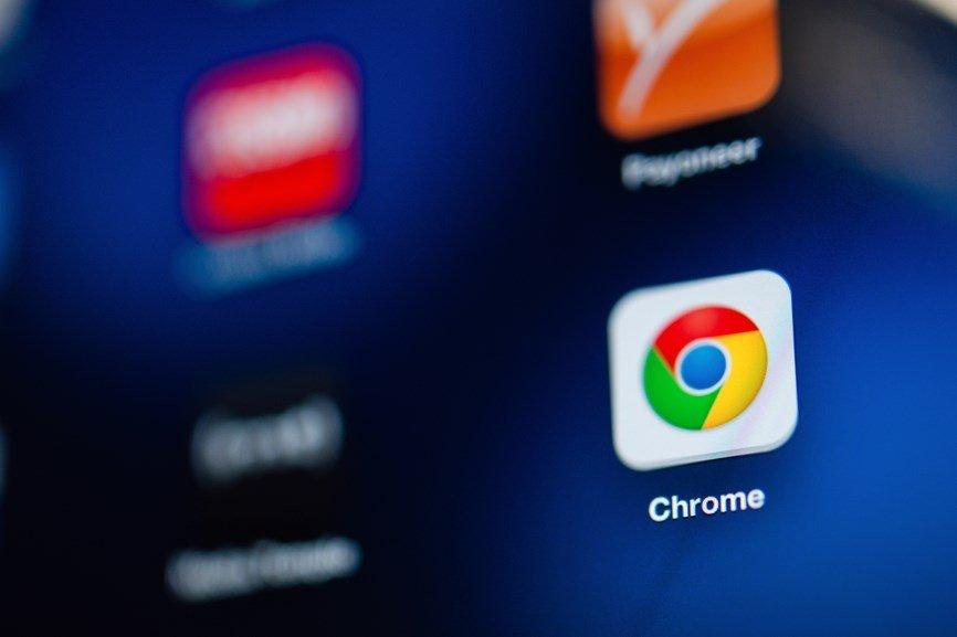 Chrome em smatphone