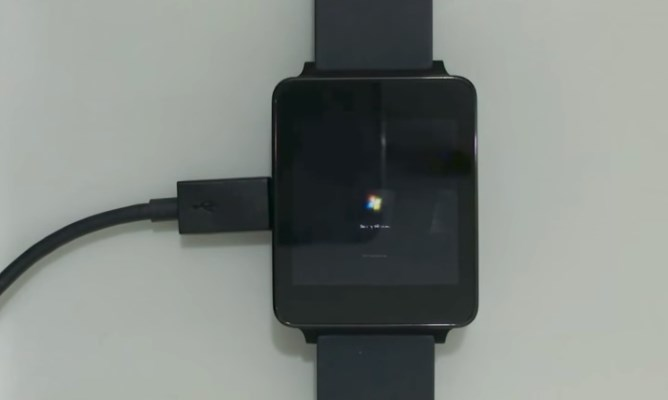Smartwatch com o Windows 7