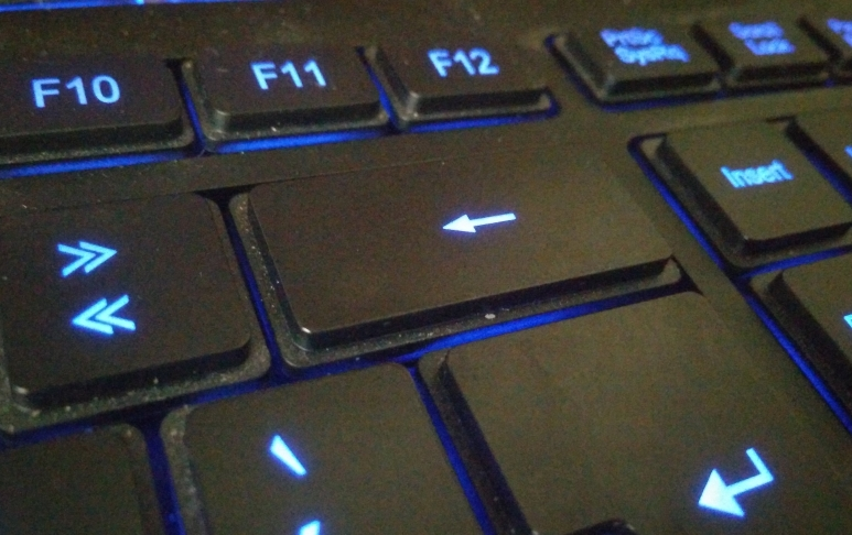 Tecla enter e backspace