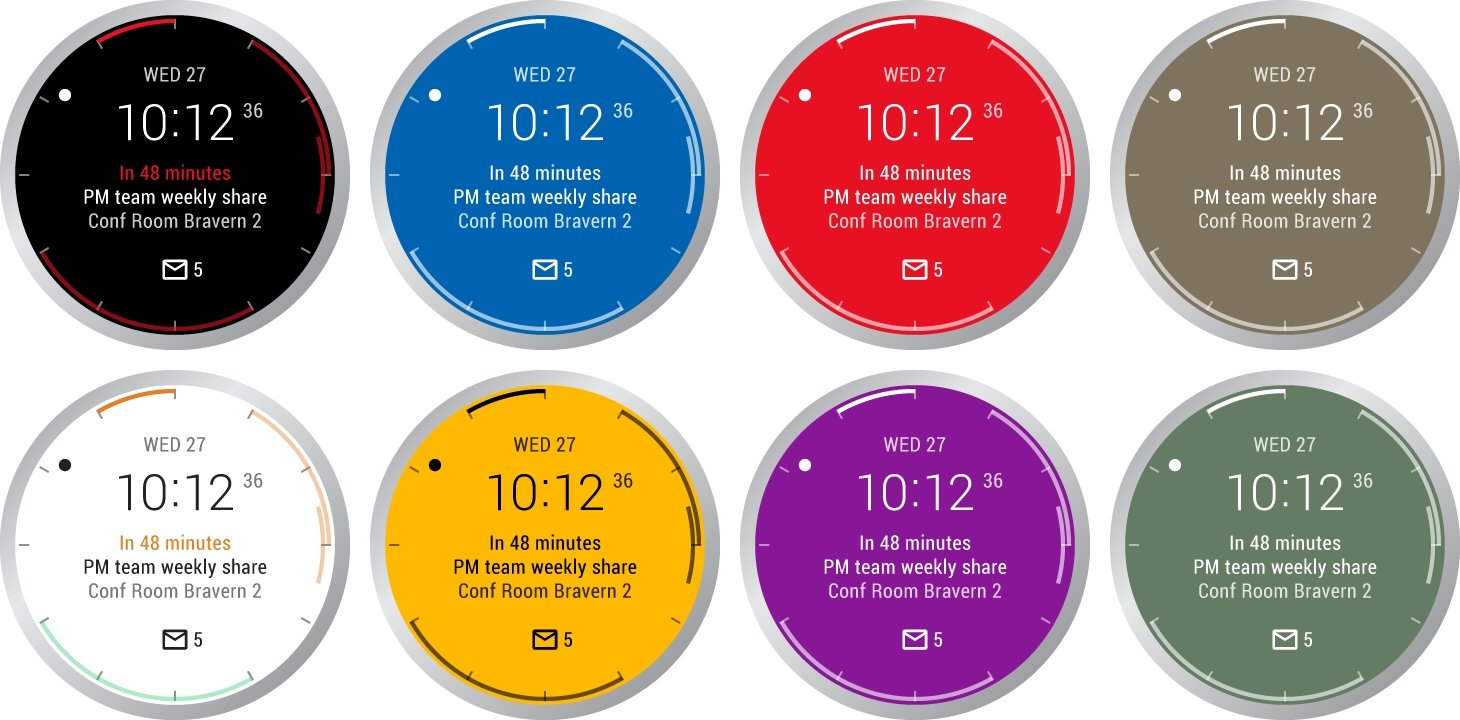 Outlook no Android Wear