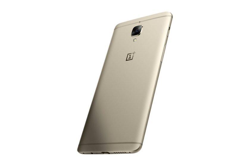 OnePlus 3 dourado