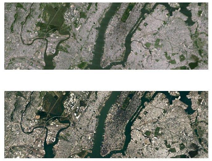 Google Maps - diferença na qualidade