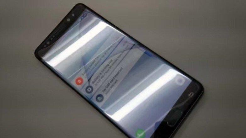 Imagem do Galaxy Note 7