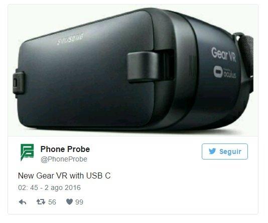 Novo Gear VR