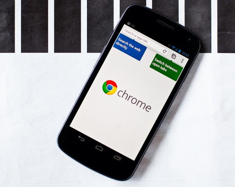 Google chrome no android
