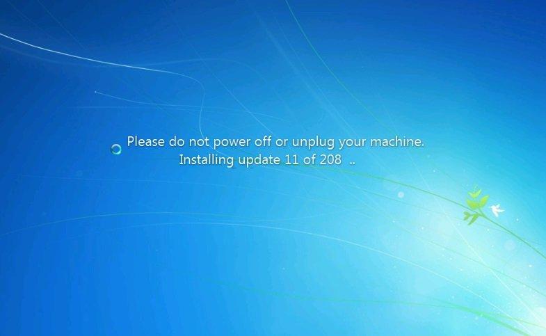 atualização do windows 7