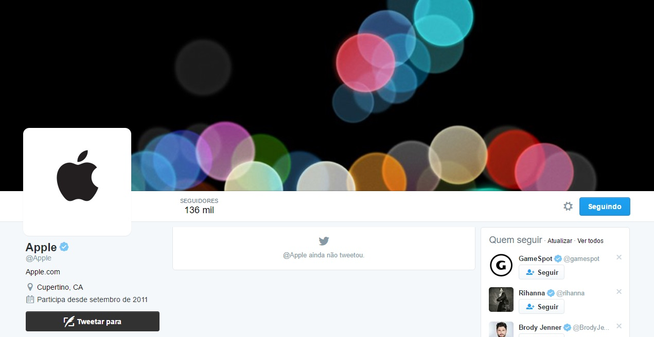 twitter da apple