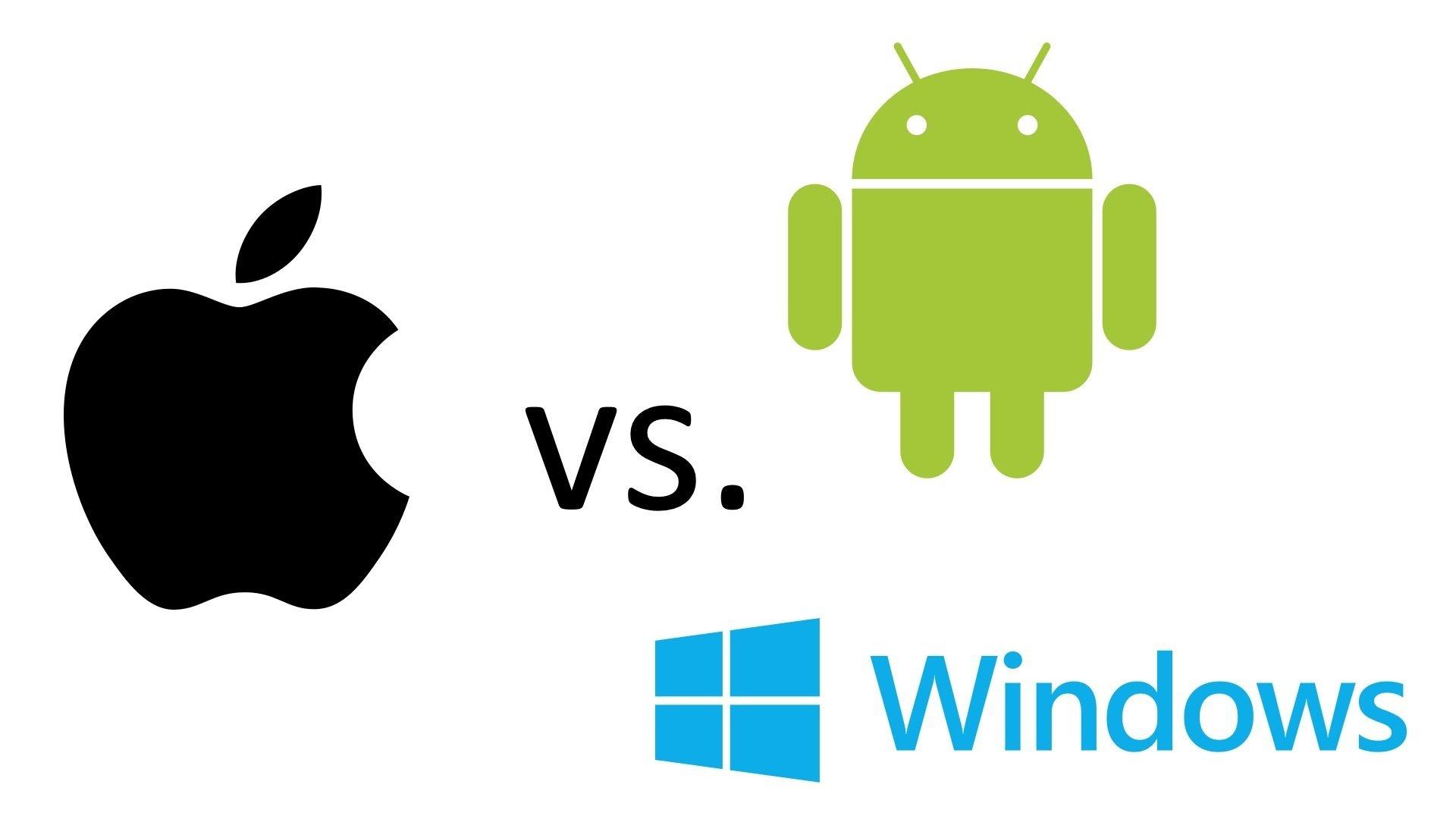 ios vs android vs windows