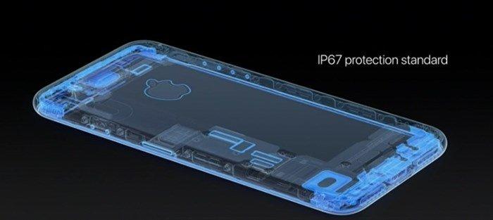 protecção contra Água do iphone 7