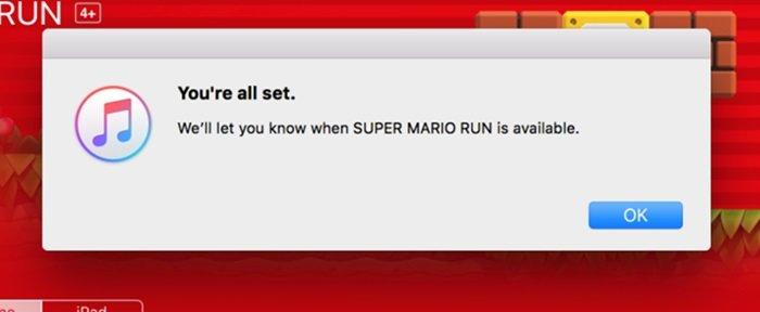 sistema de notificação da app store