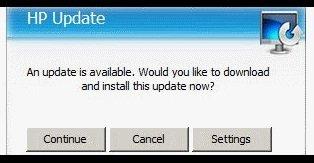 atualização do firmware