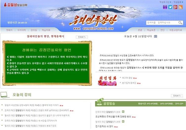 exemplo de website