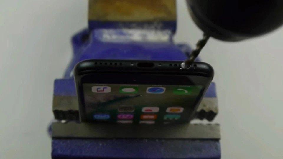 iphone 7 a ser furado