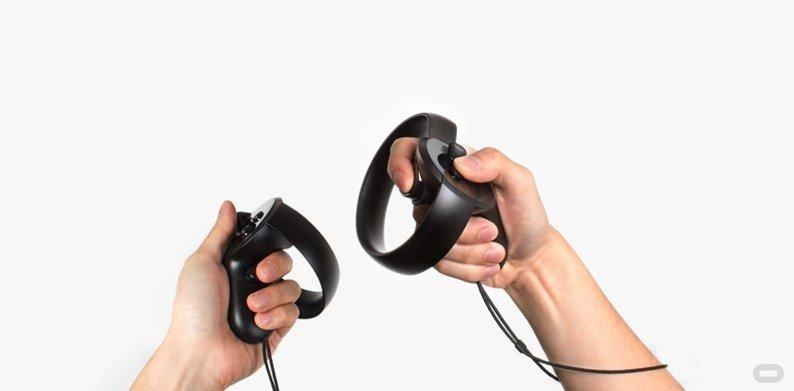 comandos para oculus rift