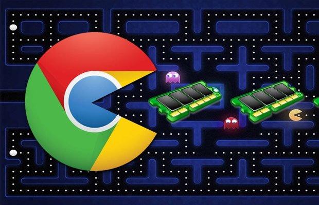 Chrome e a RAM