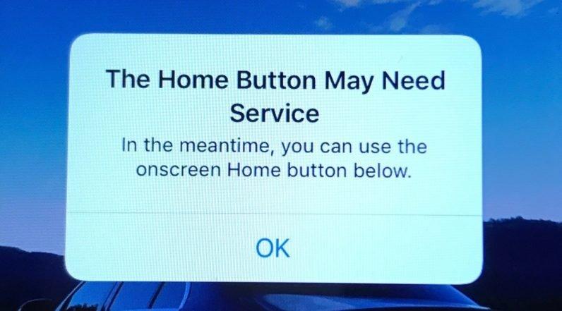 iOS e o botão home