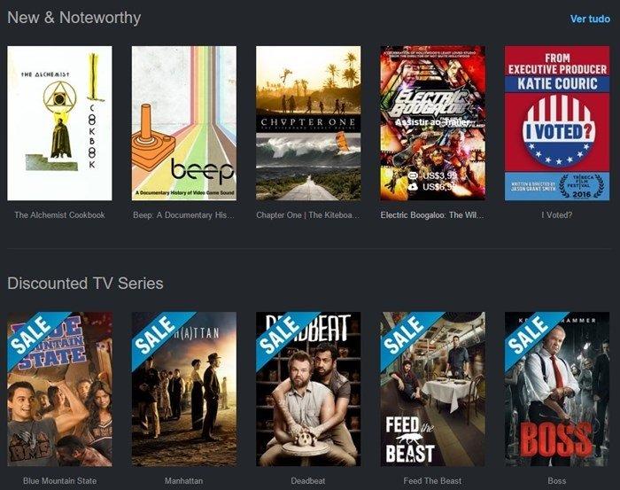 Vimeo store