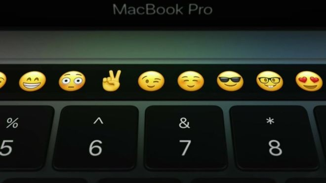 imagem da status bar da apple