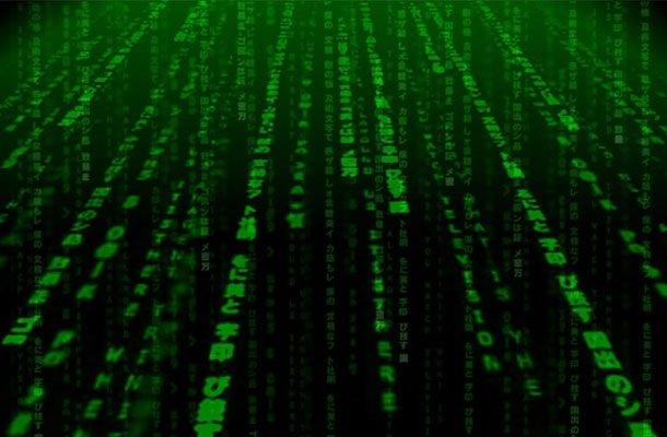 dados em linha