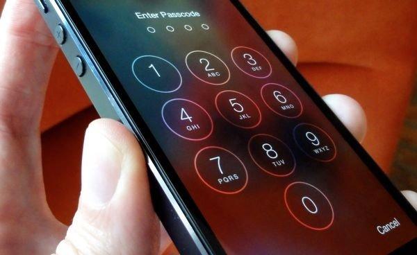 passcode no iOS