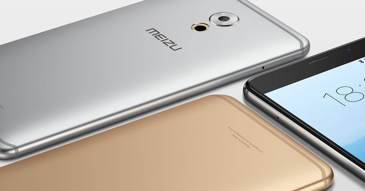 imagem das cores do Meizu Pro 6 Plus