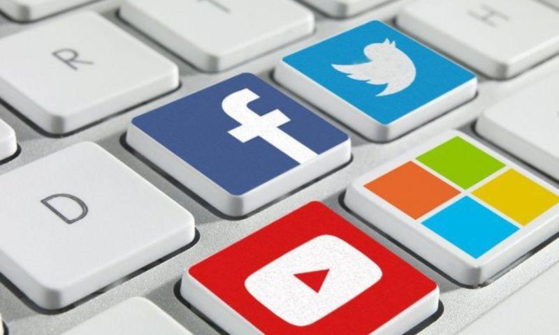 facebook twitter youtube e microsoft