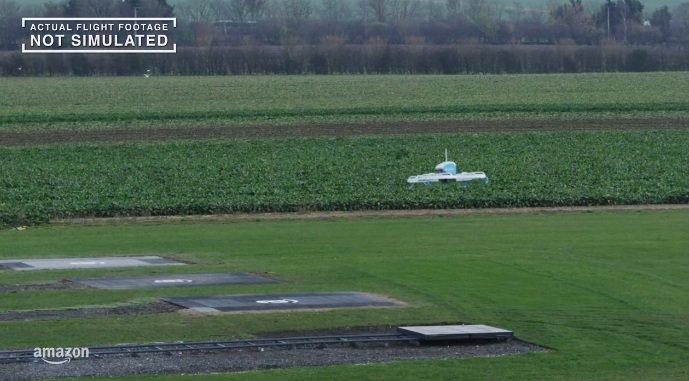drones da amazon